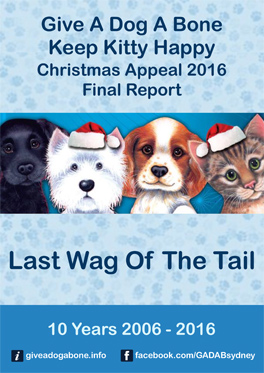 Give a Dog a Bone, Keep Kitty Happy 2016 report cover
